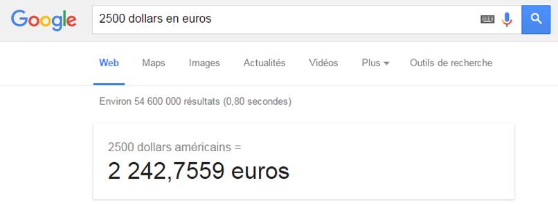 Google devises